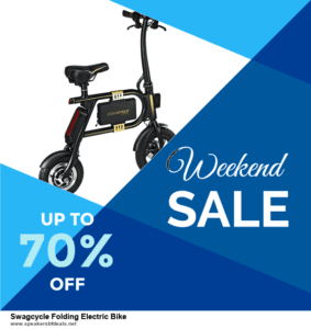 Top 5 Black Friday and Cyber Monday Swagcycle Folding Electric Bike Deals 2020 Buy Now