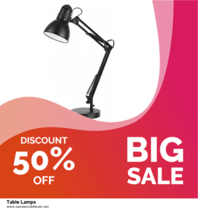 Top 5 After Christmas Deals Table Lamps Deals [Grab Now]