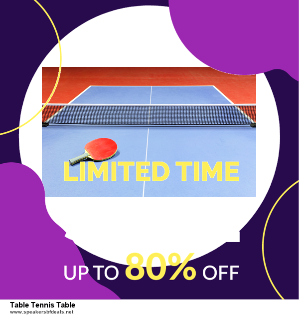 9 Best Table Tennis Table Black Friday 2020 and Cyber Monday Deals Sales
