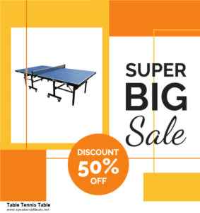 9 Best Table Tennis Table After Christmas Deals Sales