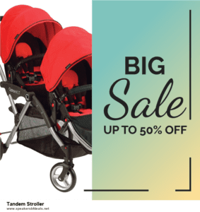 7 Best Tandem Stroller After Christmas Deals [Up to 30% Discount]