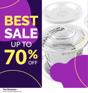 Top 5 After Christmas Deals Tea Strainers Deals [Grab Now]
