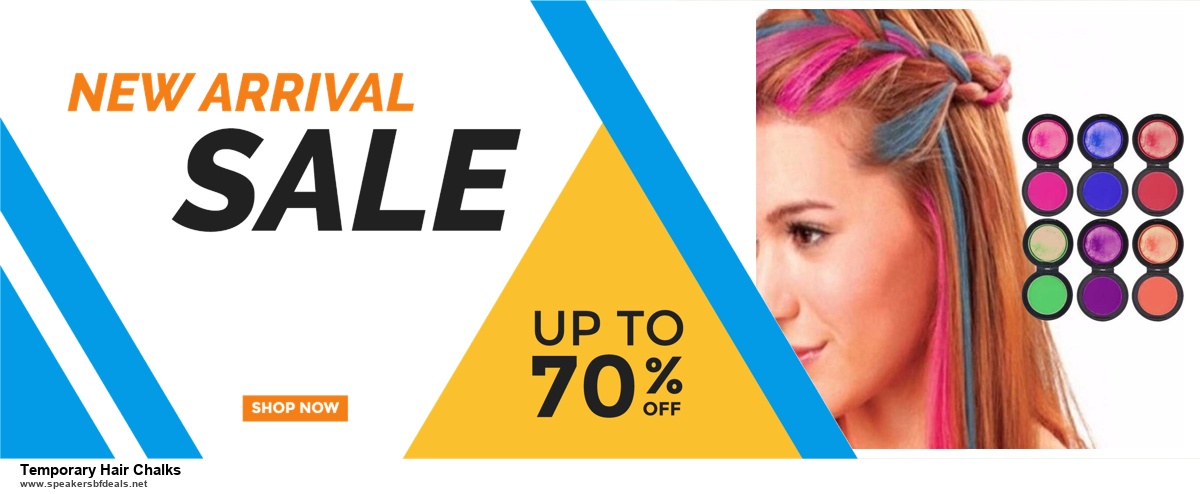 13 Best Black Friday and Cyber Monday 2020 Temporary Hair Chalks Deals [Up to 50% OFF]
