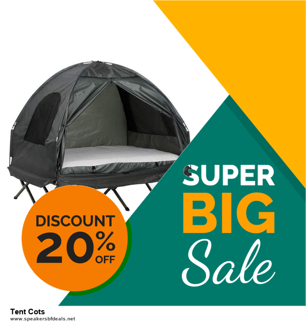 10 Best Black Friday 2020 and Cyber Monday Tent Cots Deals | 40% OFF