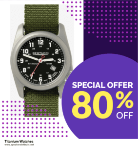 9 Best Titanium Watches After Christmas Deals Sales