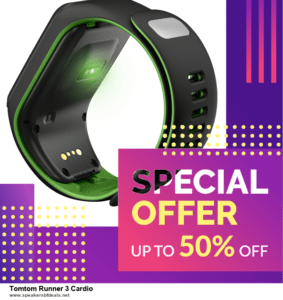 7 Best Tomtom Runner 3 Cardio After Christmas Deals [Up to 30% Discount]