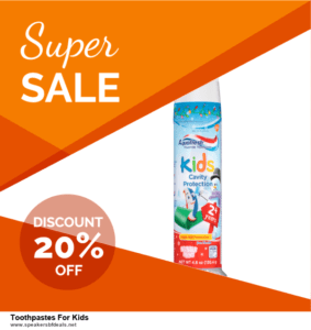 6 Best Toothpastes For Kids After Christmas Deals | Huge Discount