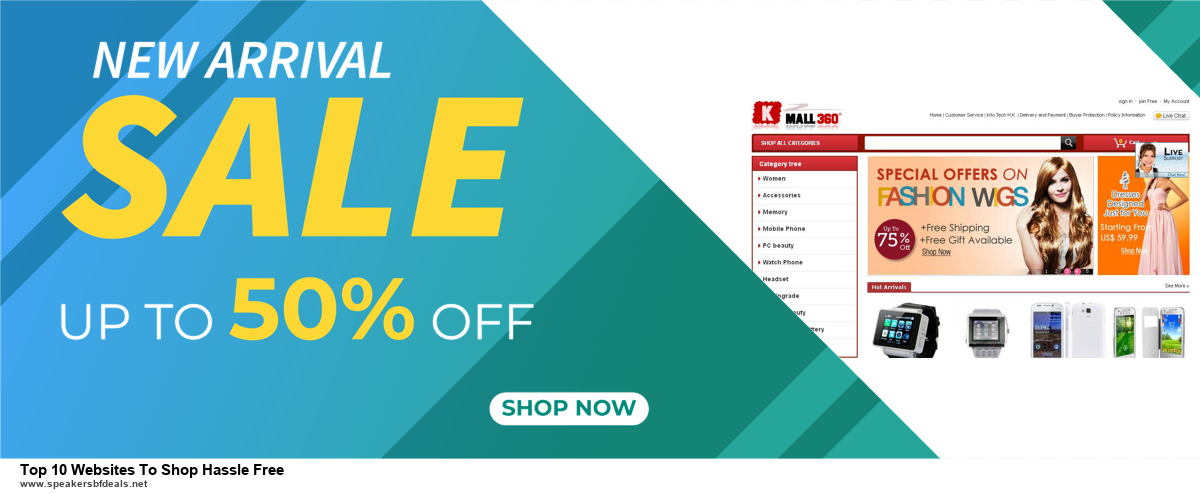 6 Best Top 10 Websites To Shop Hassle Free Black Friday 2020 and Cyber Monday Deals | Huge Discount