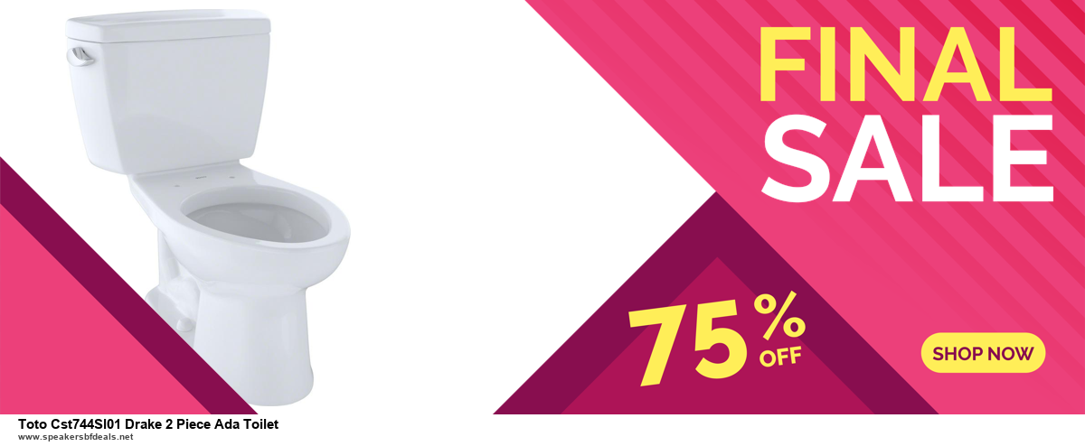 9 Best Black Friday and Cyber Monday Toto Cst744Sl01 Drake 2 Piece Ada Toilet Deals 2020 [Up to 40% OFF]