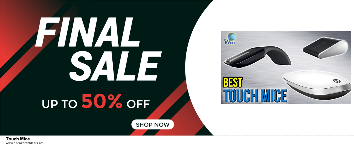 Top 11 Black Friday and Cyber Monday Touch Mice 2020 Deals Massive Discount