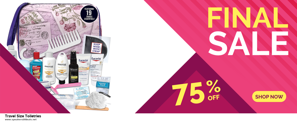 Top 11 Black Friday and Cyber Monday Travel Size Toiletries 2020 Deals Massive Discount