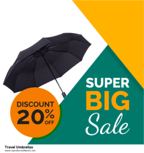 9 Best After Christmas Deals Travel Umbrellas Deals 2020 [Up to 40% OFF]