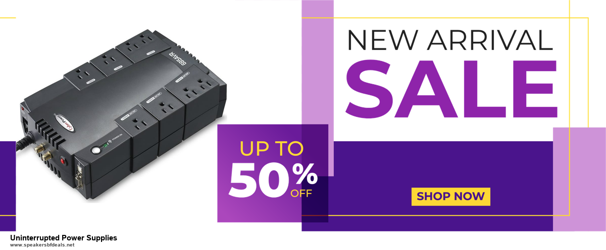 Top 10 Uninterrupted Power Supplies Black Friday 2020 and Cyber Monday Deals
