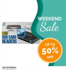 Grab 10 Best Black Friday and Cyber Monday Usb Card Readers Deals & Sales