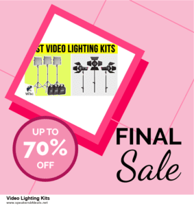 Grab 10 Best After Christmas Deals Video Lighting Kits Deals & Sales