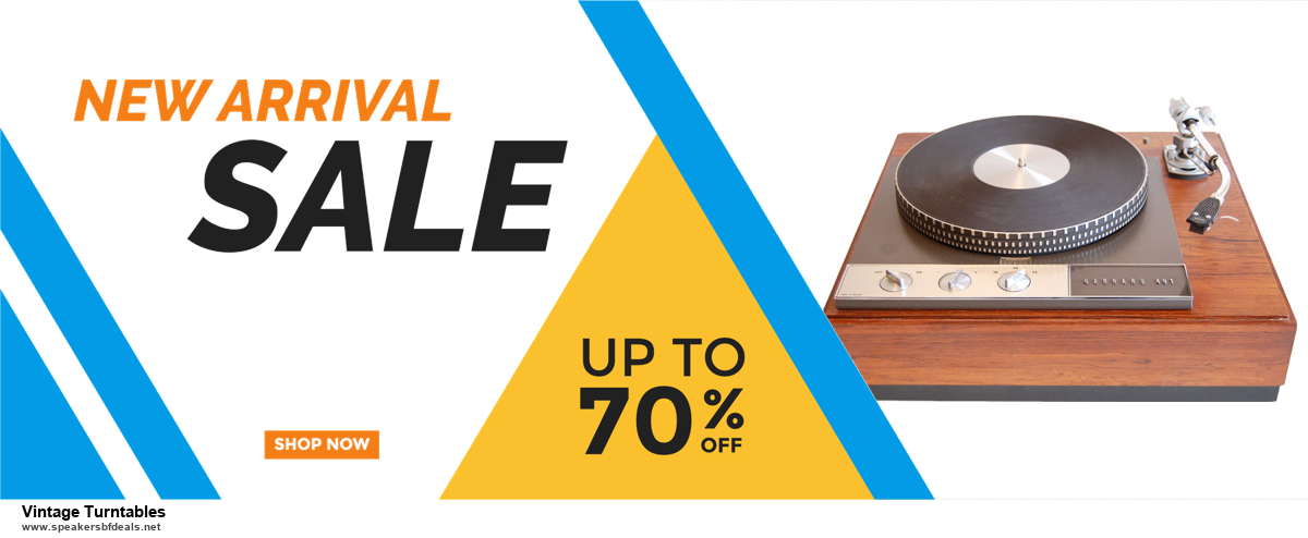 5 Best Vintage Turntables Black Friday 2020 and Cyber Monday Deals & Sales