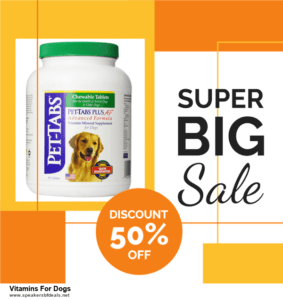 5 Best Vitamins For Dogs After Christmas Deals & Sales