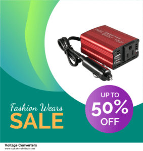 9 Best After Christmas Deals Voltage Converters Deals 2020 [Up to 40% OFF]
