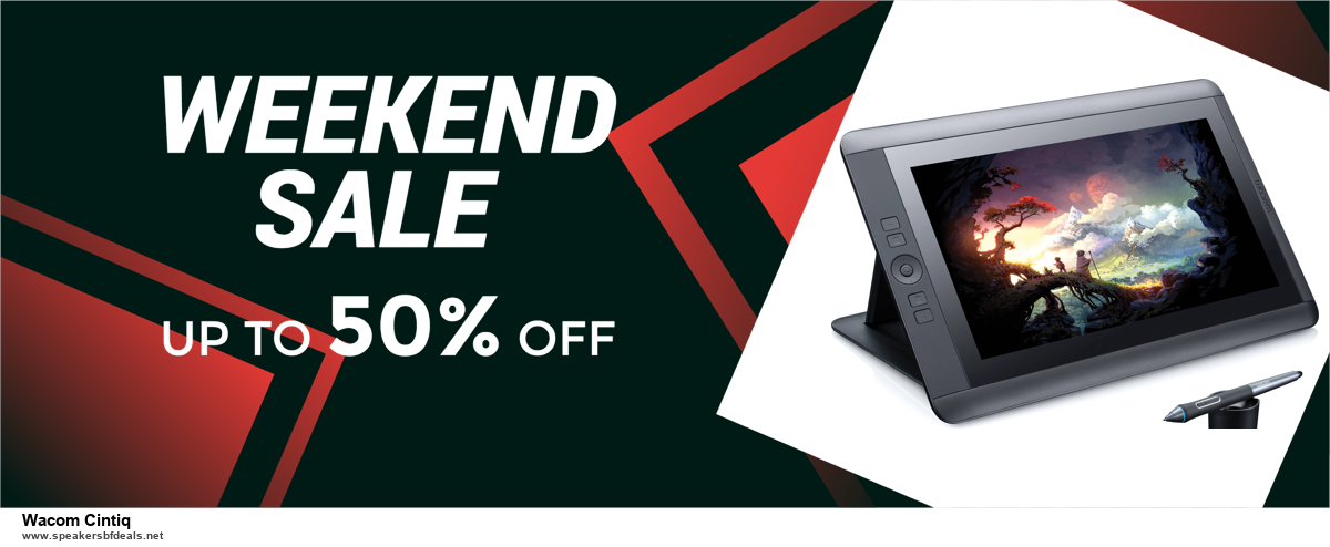 Top 5 Black Friday and Cyber Monday Wacom Cintiq Deals 2020 Buy Now