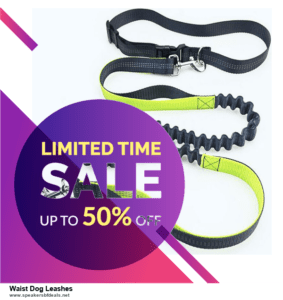 6 Best Waist Dog Leashes Black Friday 2020 and Cyber Monday Deals | Huge Discount