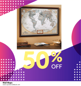 10 Best After Christmas Deals  Wall Maps Deals | 40% OFF