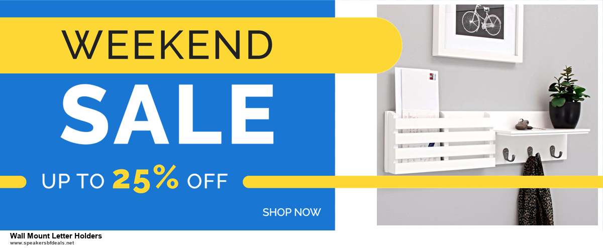Grab 10 Best Black Friday and Cyber Monday Wall Mount Letter Holders Deals & Sales