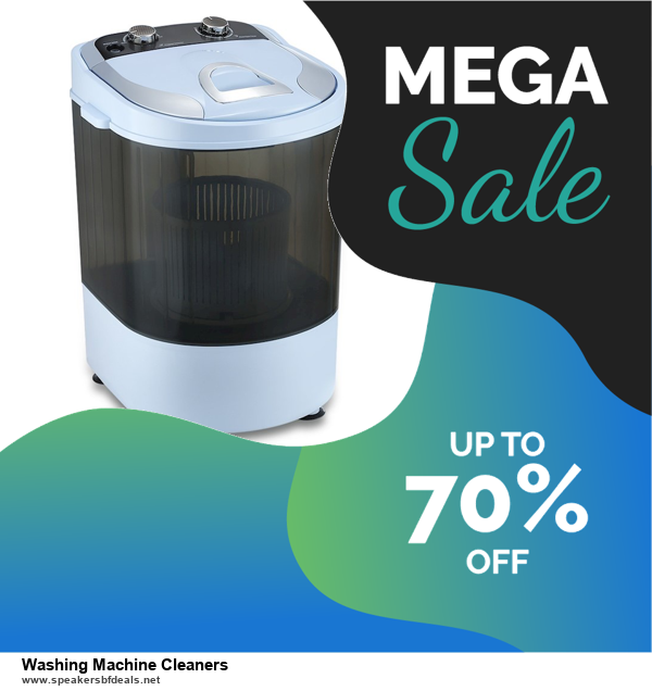Top 10 Washing Machine Cleaners Black Friday 2020 and Cyber Monday Deals