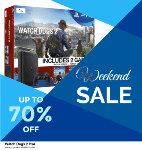 Grab 10 Best Black Friday and Cyber Monday Watch Dogs 2 Ps4 Deals & Sales