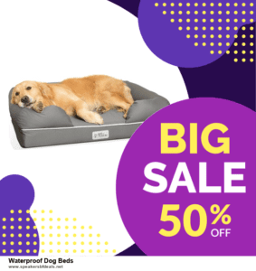 6 Best Waterproof Dog Beds Black Friday 2020 and Cyber Monday Deals | Huge Discount