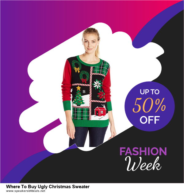Top 10 Where To Buy Ugly Christmas Sweater Black Friday 2020 and Cyber Monday Deals