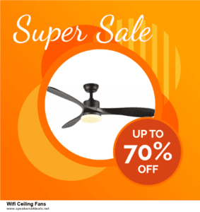 Top 5 After Christmas Deals Wifi Ceiling Fans Deals 2020 Buy Now