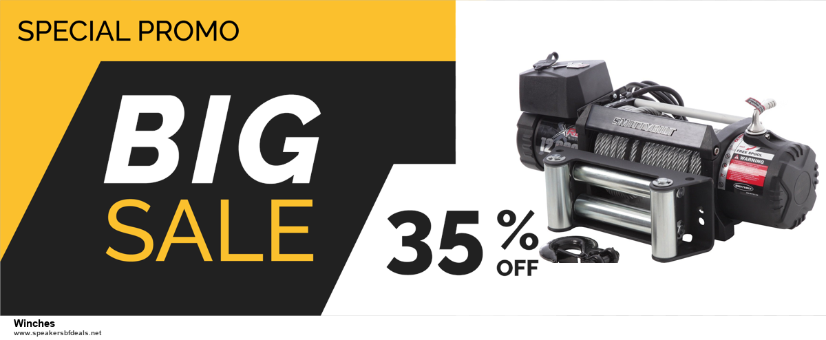 7 Best Winches Black Friday 2020 and Cyber Monday Deals [Up to 30% Discount]
