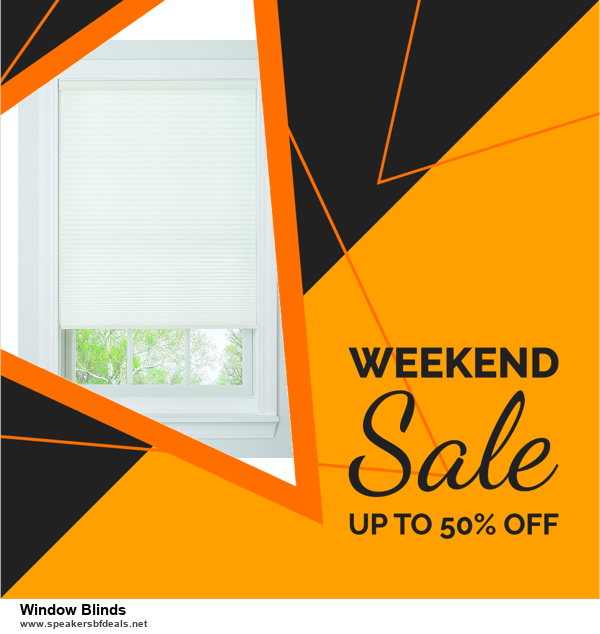 List of 10 Best Black Friday and Cyber Monday Window Blinds Deals 2020