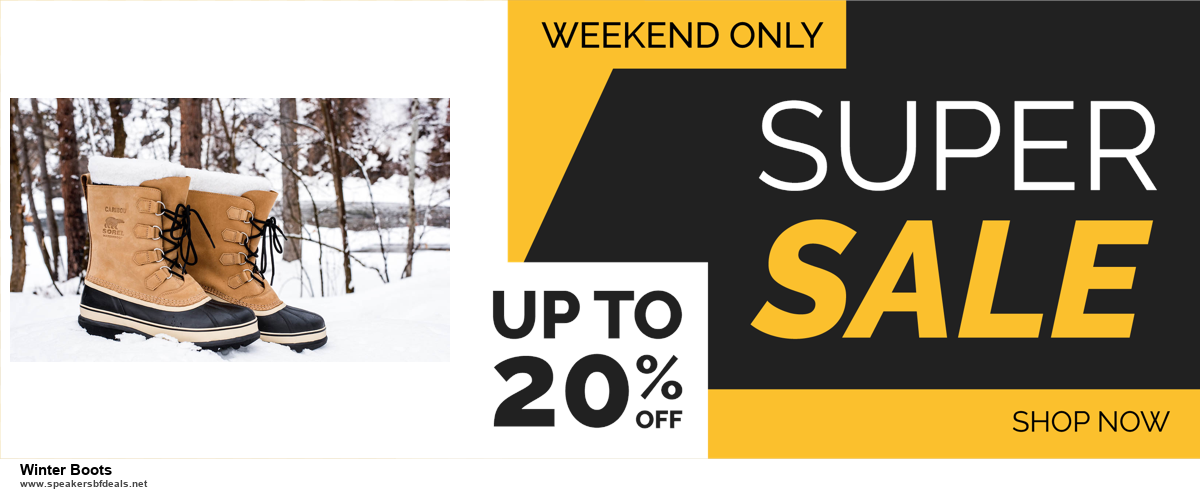 10 Best Winter Boots Black Friday 2020 and Cyber Monday Deals Discount Coupons
