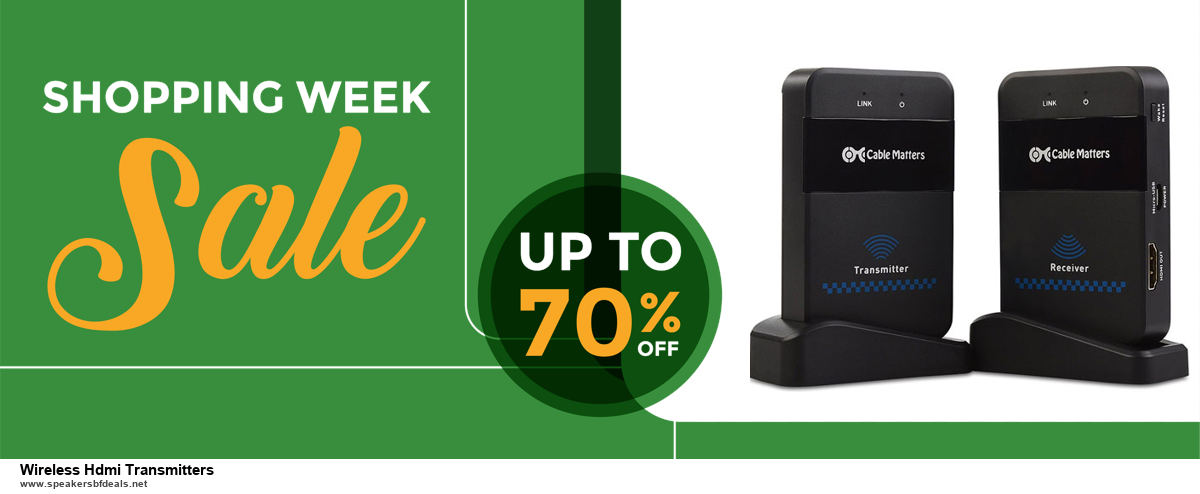 Top 10 Wireless Hdmi Transmitters Black Friday 2020 and Cyber Monday Deals