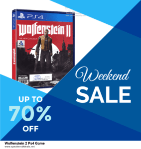 List of 6 Wolfenstein 2 Ps4 Game After Christmas DealsDeals [Extra 50% Discount]