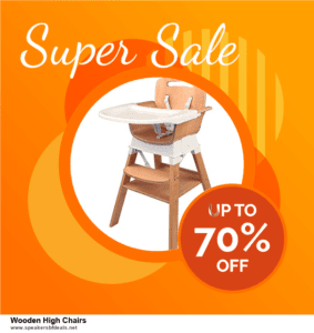 7 Best Wooden High Chairs Black Friday 2020 and Cyber Monday Deals [Up to 30% Discount]