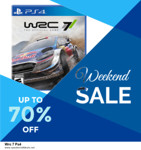 7 Best Wrc 7 Ps4 After Christmas Deals [Up to 30% Discount]