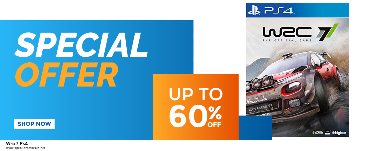 7 Best Wrc 7 Ps4 Black Friday 2020 and Cyber Monday Deals [Up to 30% Discount]
