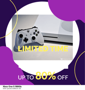 Top 10 Xbox One S 500Gb After Christmas Deals