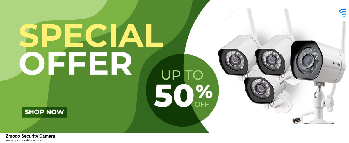List of 6 Zmodo Security Camera Black Friday 2020 and Cyber MondayDeals [Extra 50% Discount]